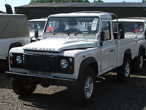 Used Land Rover Defender >> Defender 110 HCPU 2010